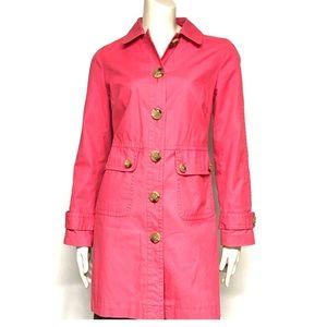 Gap coral trench coat